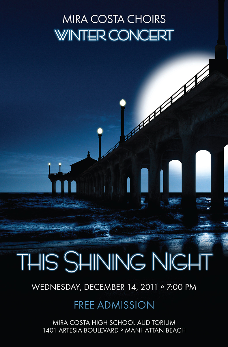 This Shining Night Winter Concert Poster