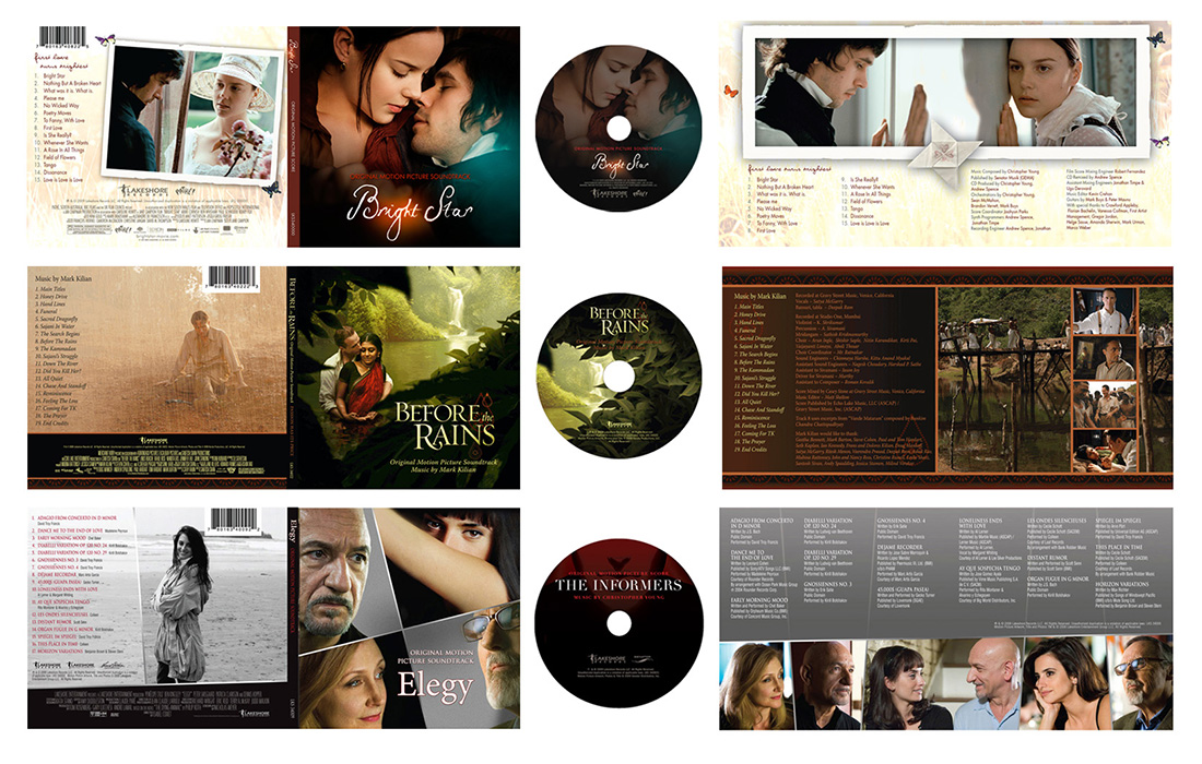 Music Soundtrack Packaging: Drama