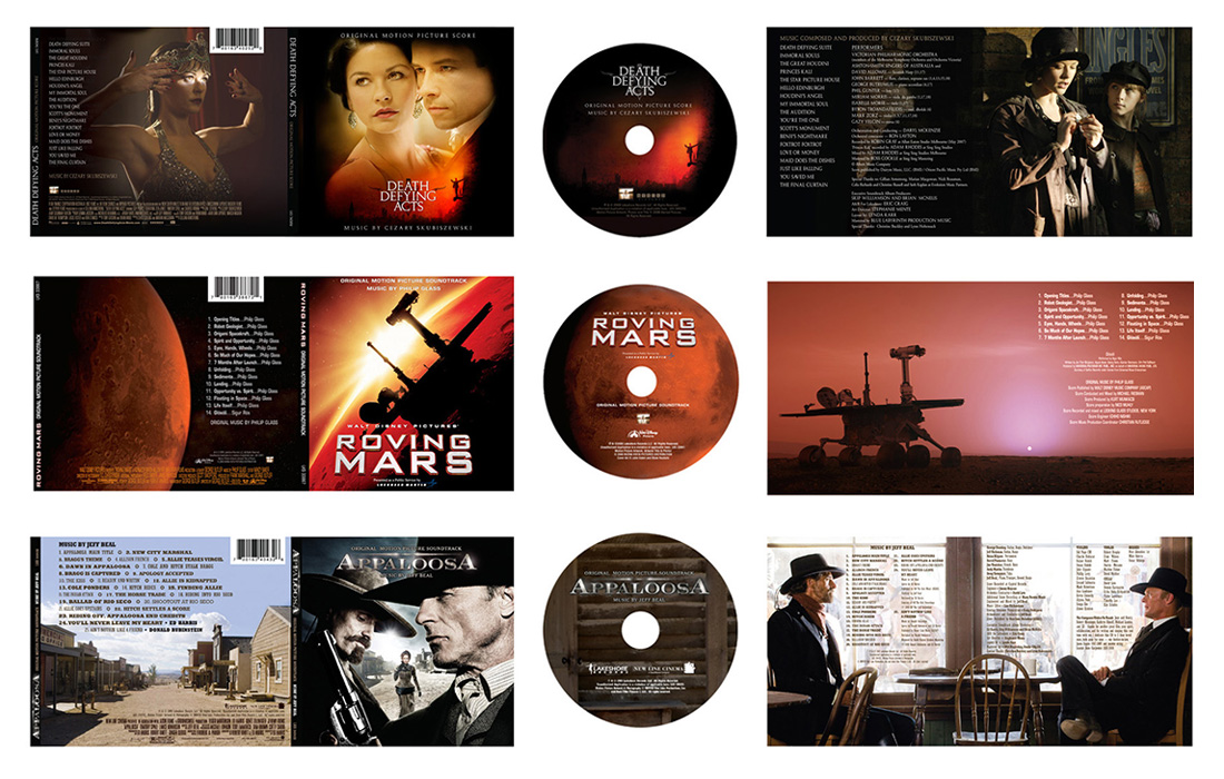 Music Soundtrack Packaging: Drama and Original