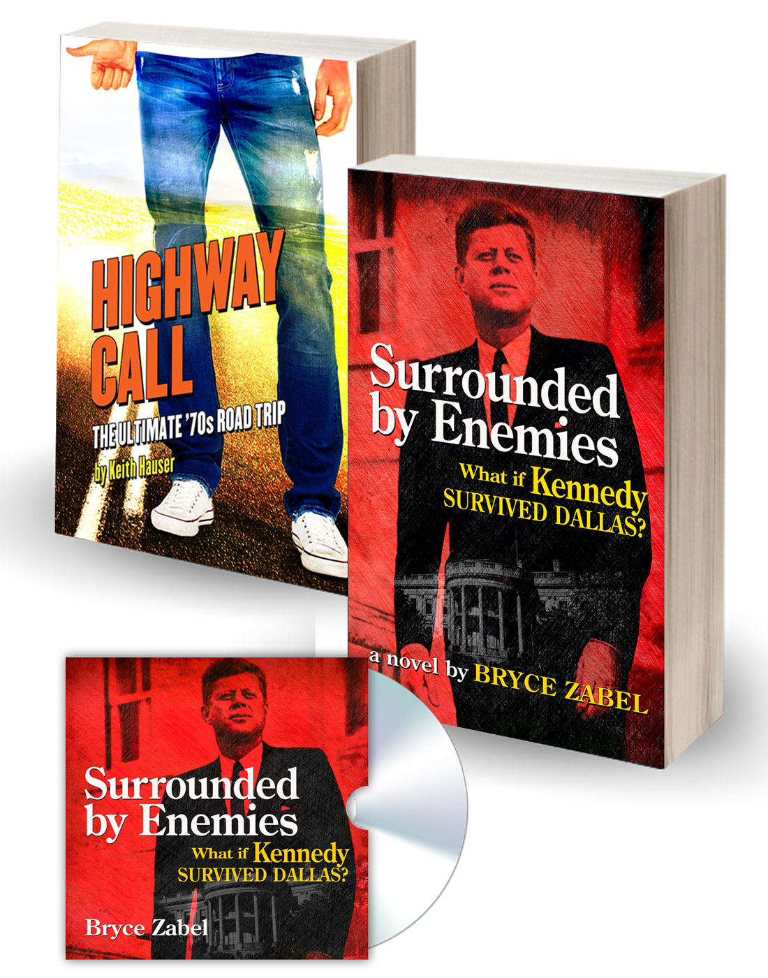 Highway Call and Surrounded by Enemies books