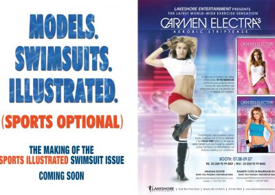 Sports Illustrated   Carmen Electra Ads