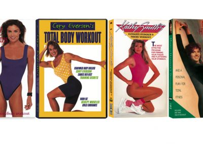 Fitness videos - Art direction of photo shoots
