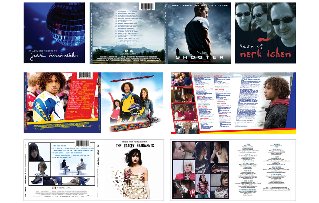 Music Soundtrack Packaging: Young Adult